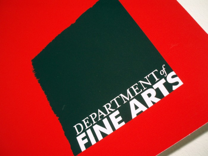 Department of Fine Arts logo