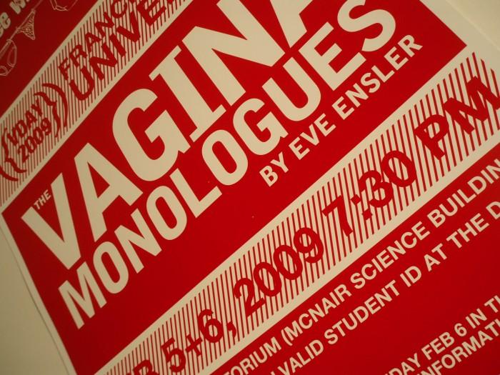 Vagina Monologues poster